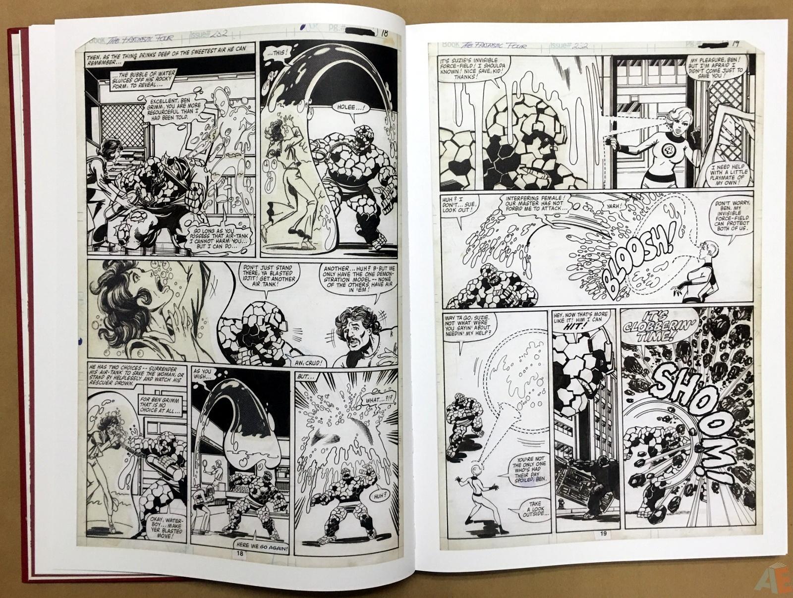 John Byrne's The Fantastic Four Artist's Edition 12
