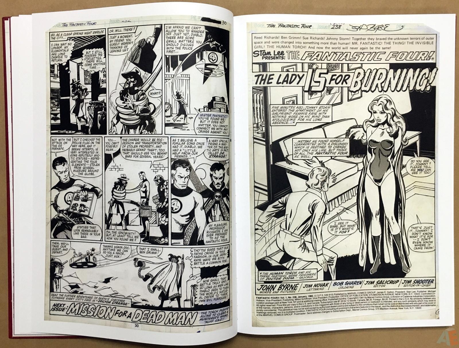 John Byrne's The Fantastic Four Artist's Edition 14
