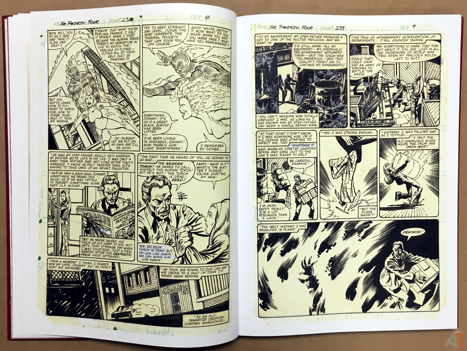 John Byrne's The Fantastic Four Artist's Edition 16