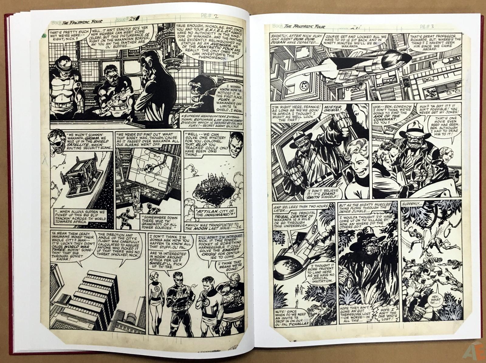 John Byrne's The Fantastic Four Artist's Edition 18