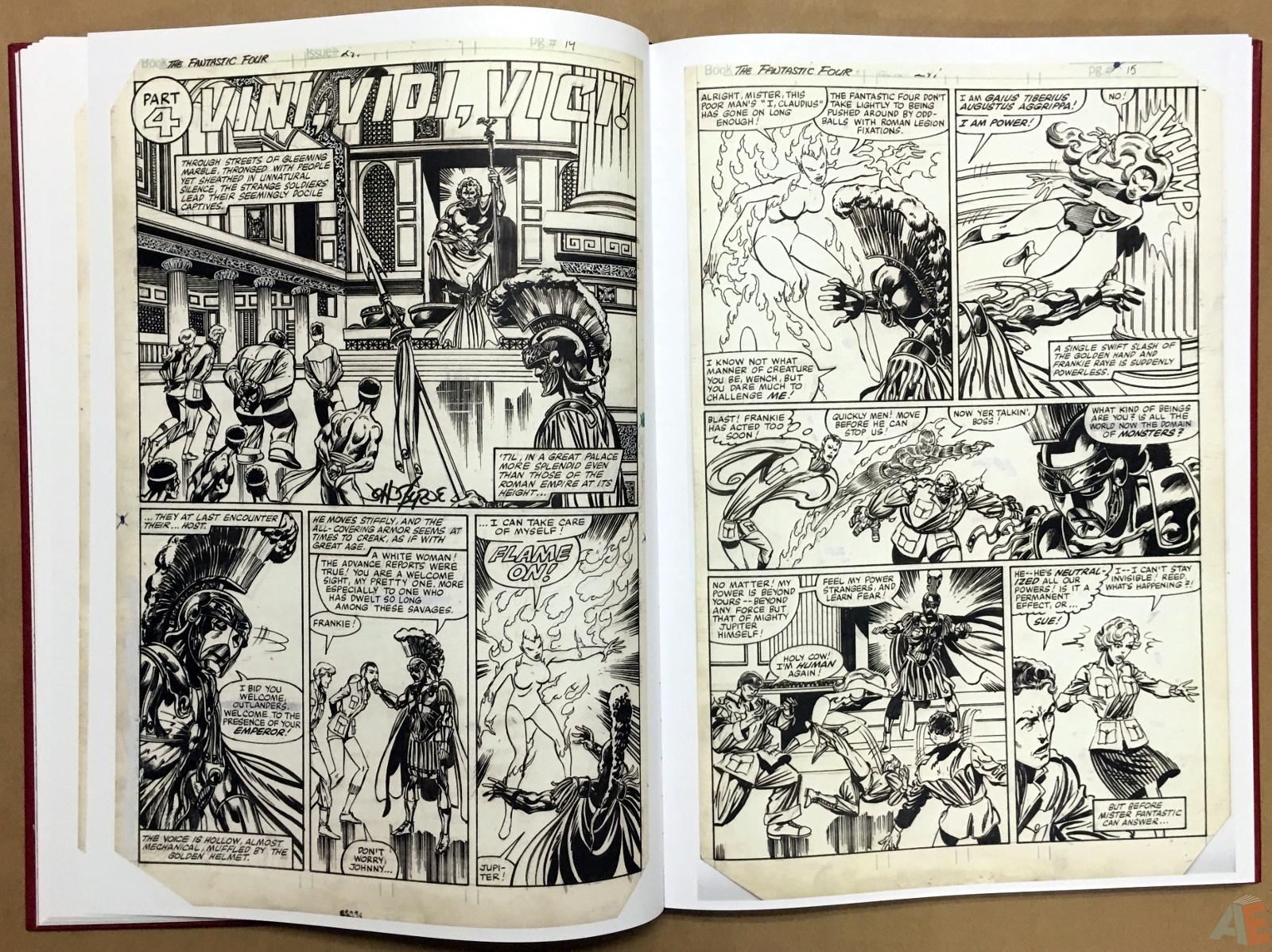 John Byrne's The Fantastic Four Artist's Edition 20