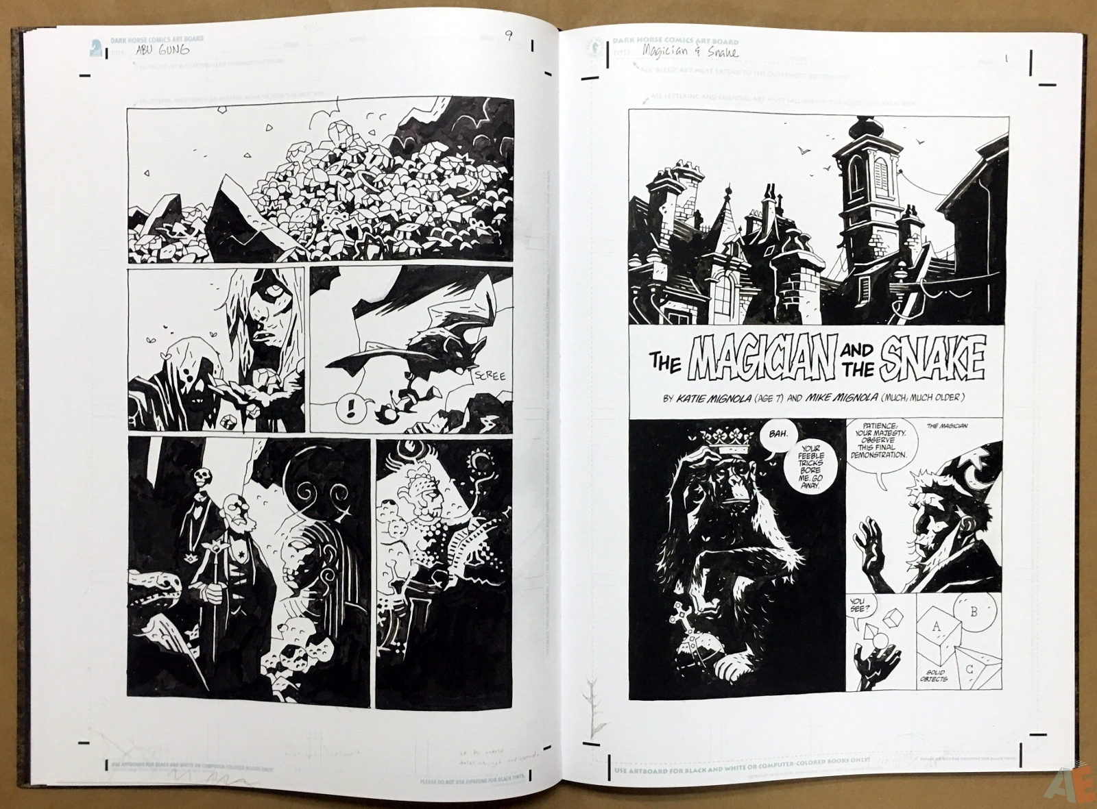 Mike Mignola's The Amazing Screw-On Head and Other Curious Objects Artist's Edition 22