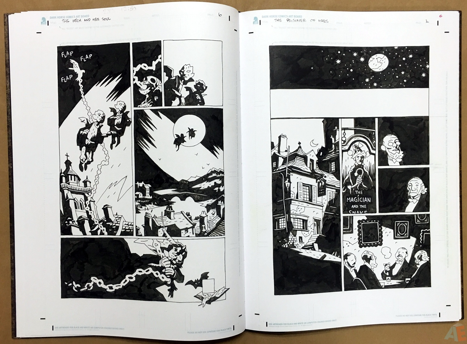 Mike Mignola's The Amazing Screw-On Head and Other Curious Objects Artist's Edition 26