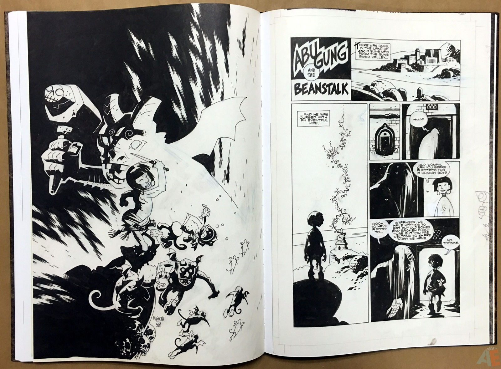 Mike Mignola's The Amazing Screw-On Head and Other Curious Objects Artist's Edition 44