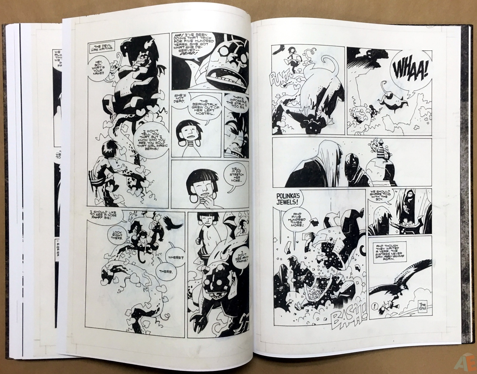 Mike Mignola's The Amazing Screw-On Head and Other Curious Objects Artist's Edition 46