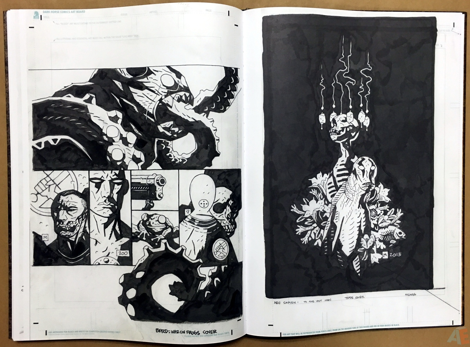Mike Mignola's The Amazing Screw-On Head and Other Curious Objects Artist's Edition 60