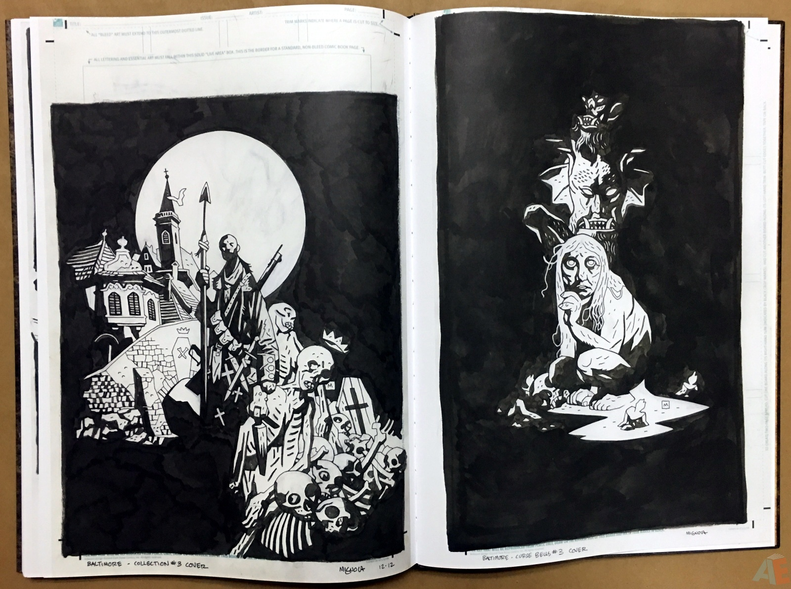 Mike Mignola's The Amazing Screw-On Head and Other Curious Objects Artist's Edition 64