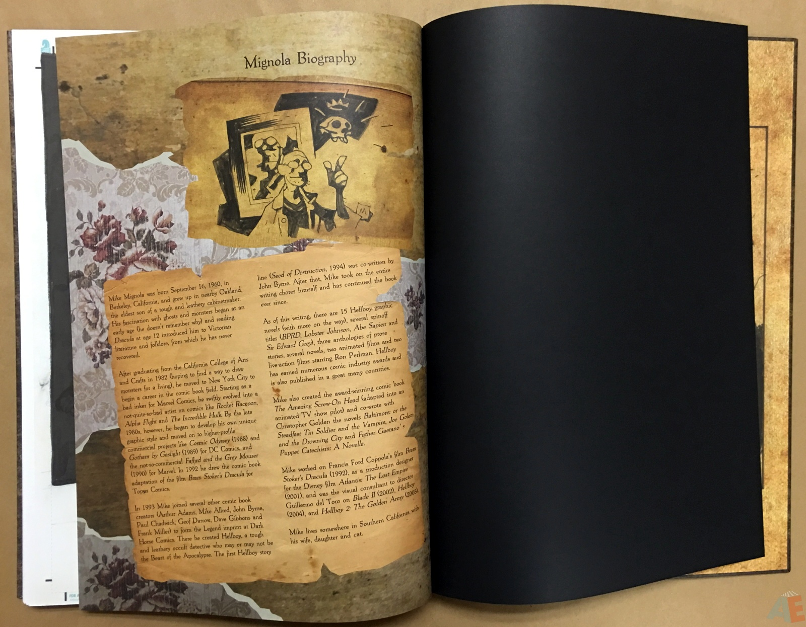 Mike Mignola's The Amazing Screw-On Head and Other Curious Objects Artist's Edition 70