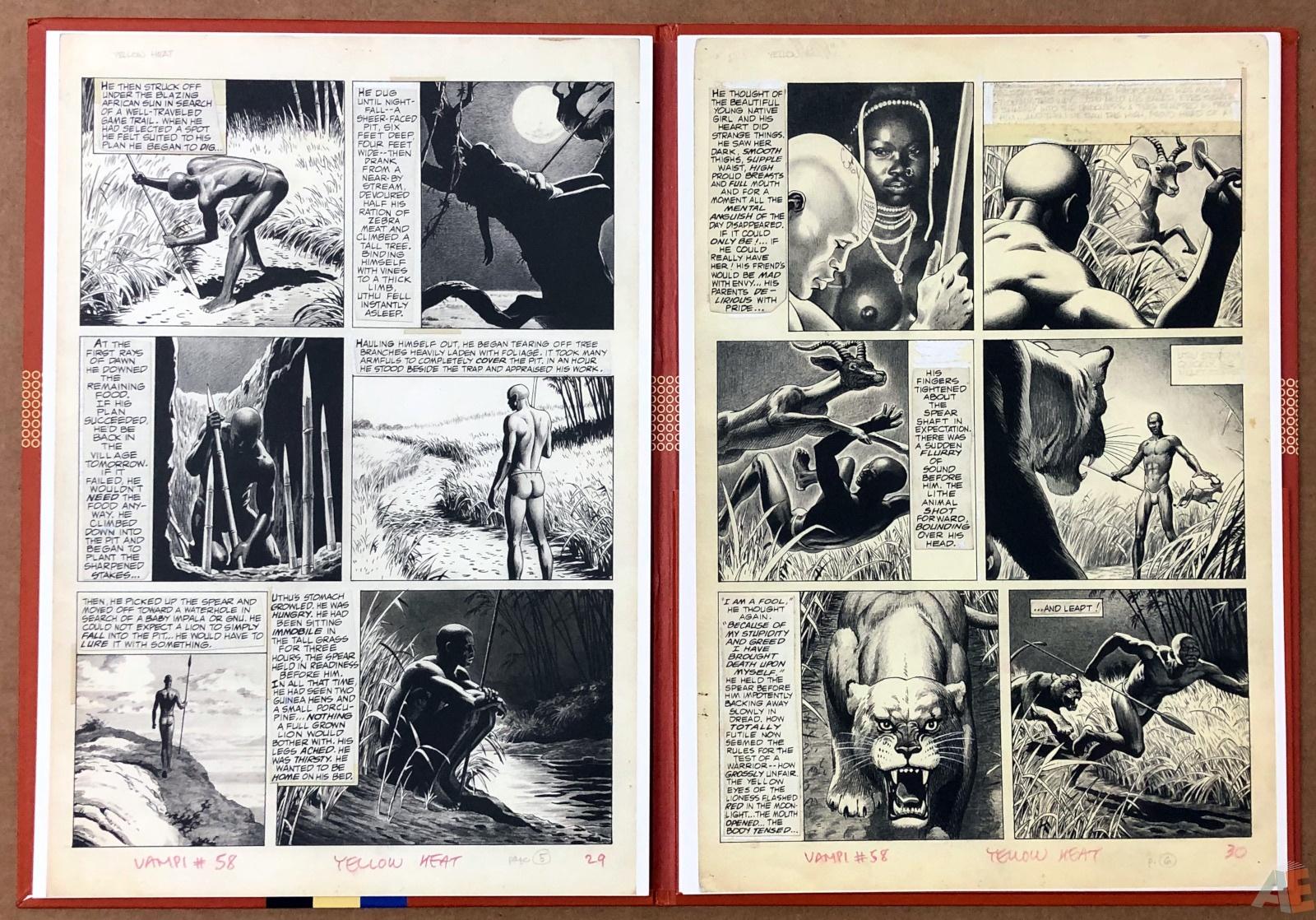 Russ Heath's Yellow Heat Artist's Edition Portfolio 10