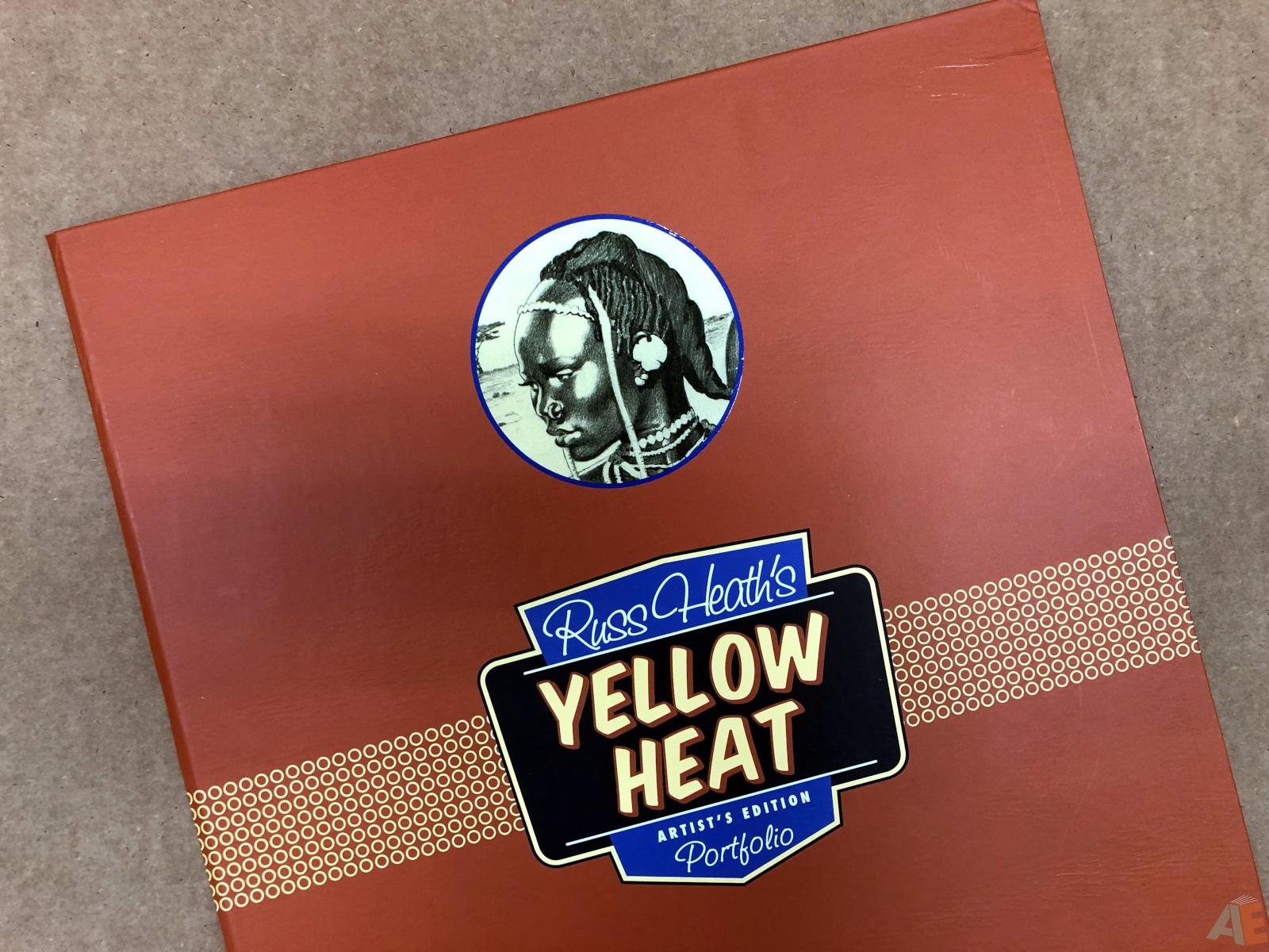 Russ Heath's Yellow Heat Artist's Edition Portfolio 14