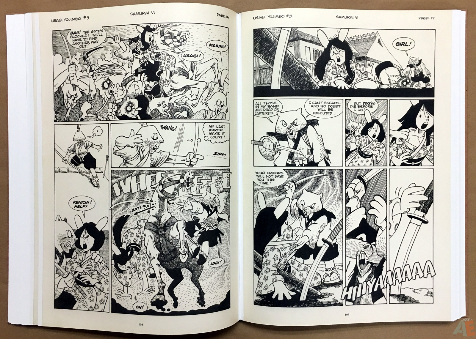 Usagi Yojimbo: Samurai and Other Stories Gallery Edition 22