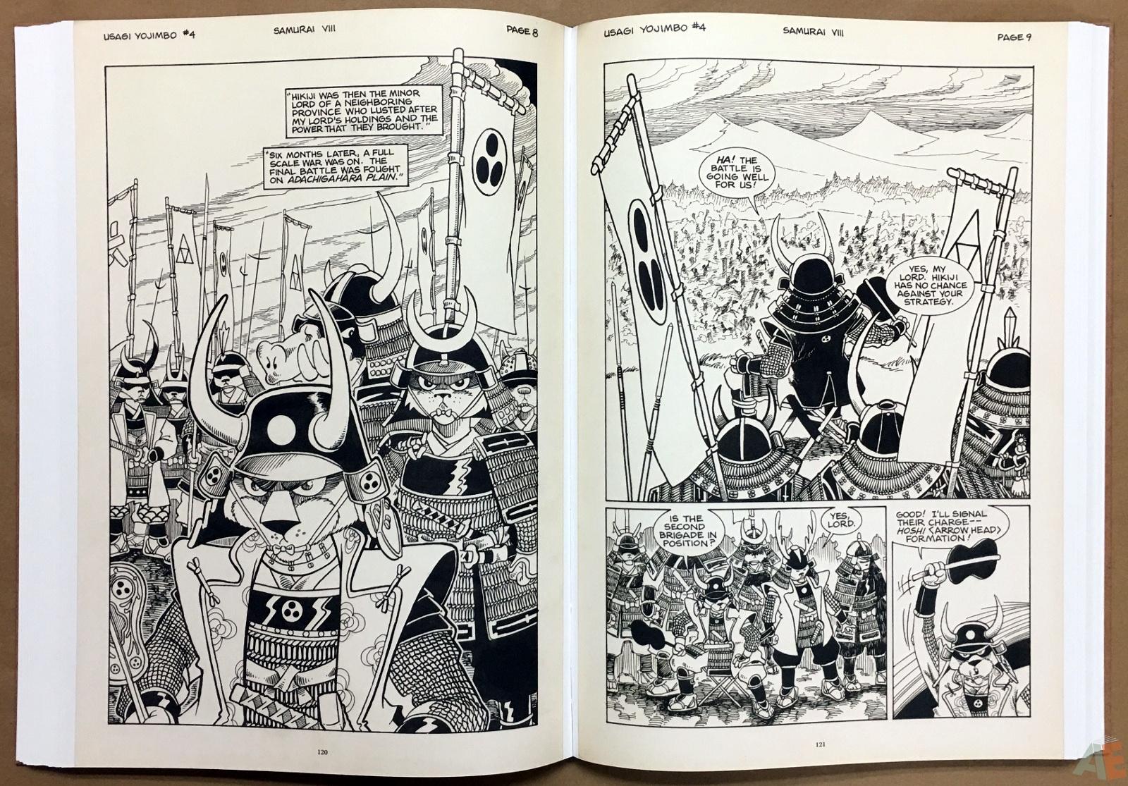 Usagi Yojimbo: Samurai and Other Stories Gallery Edition 24