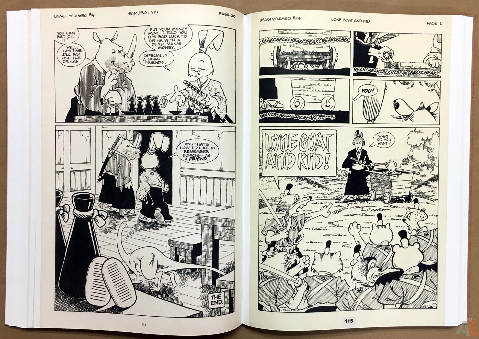Usagi Yojimbo: Samurai and Other Stories Gallery Edition 26