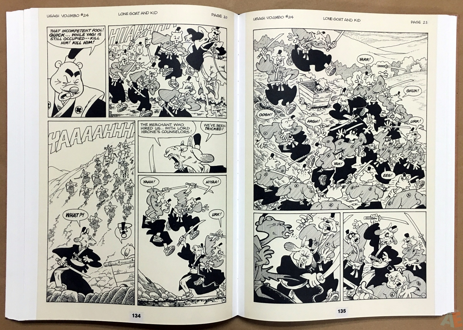 Usagi Yojimbo: Samurai and Other Stories Gallery Edition 28
