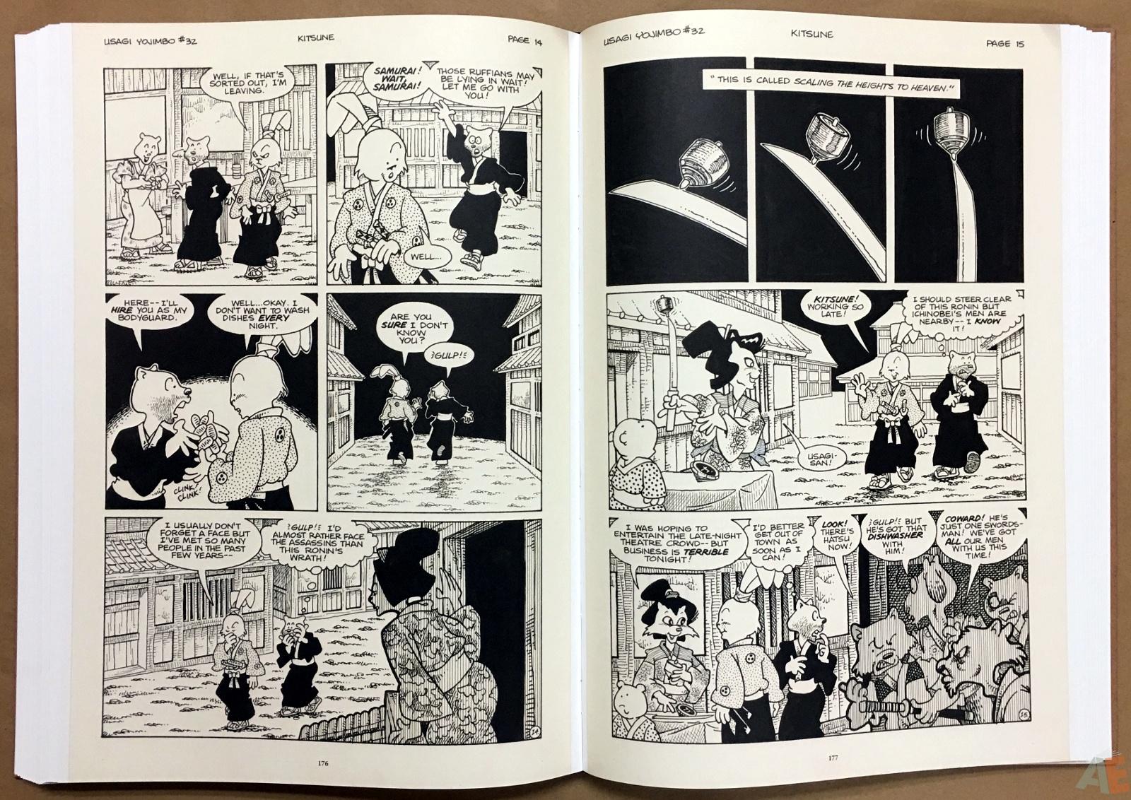 Usagi Yojimbo: Samurai and Other Stories Gallery Edition 32