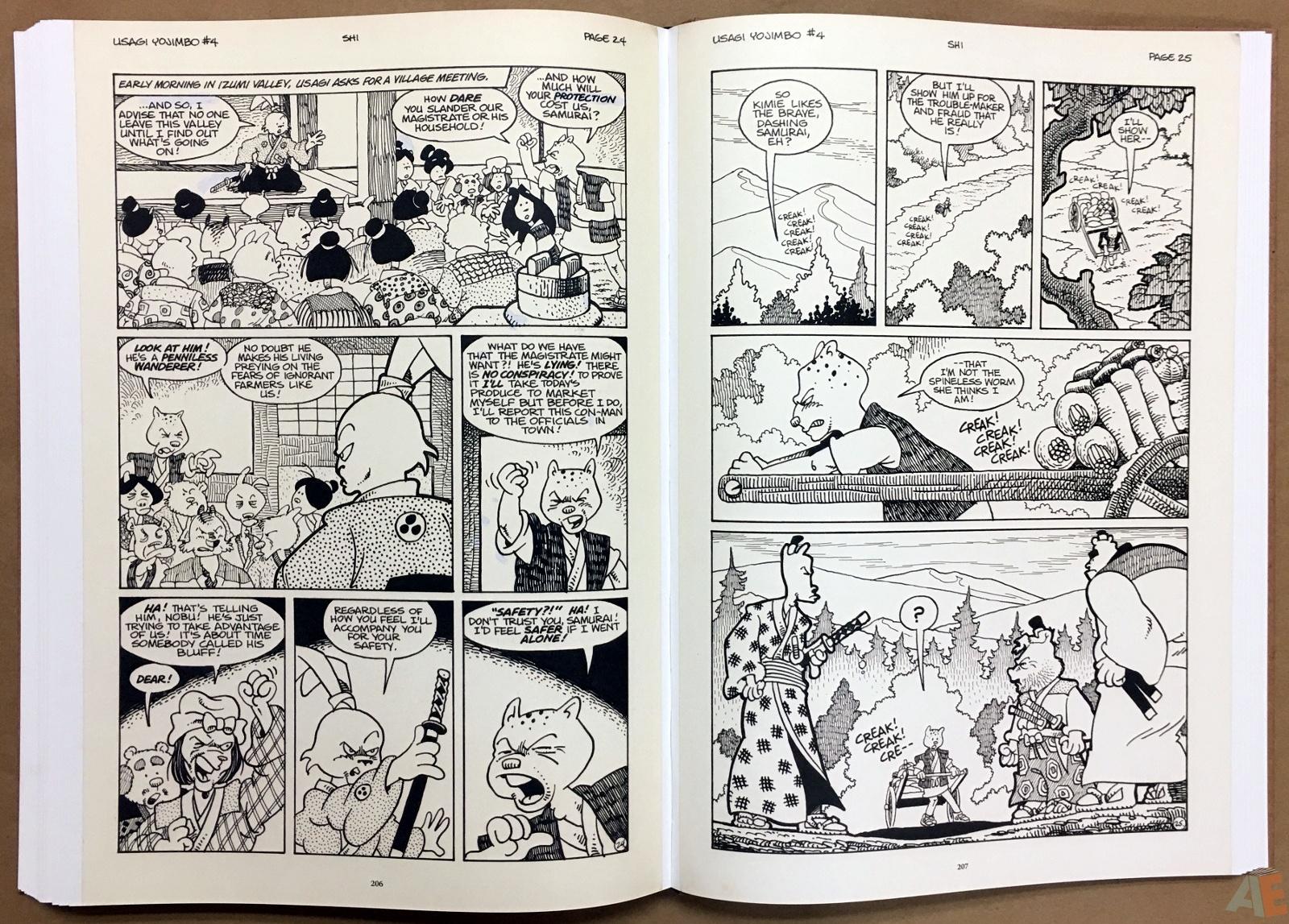 Usagi Yojimbo: Samurai and Other Stories Gallery Edition 36