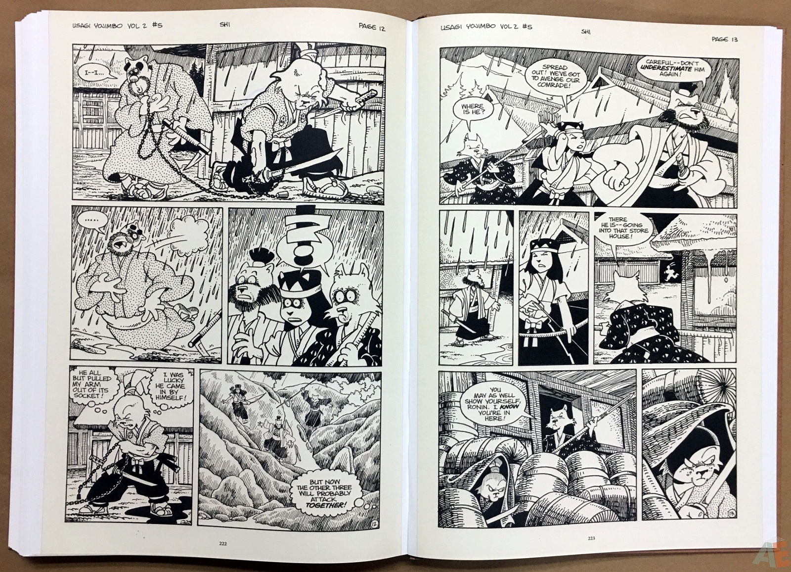 Usagi Yojimbo: Samurai and Other Stories Gallery Edition 38