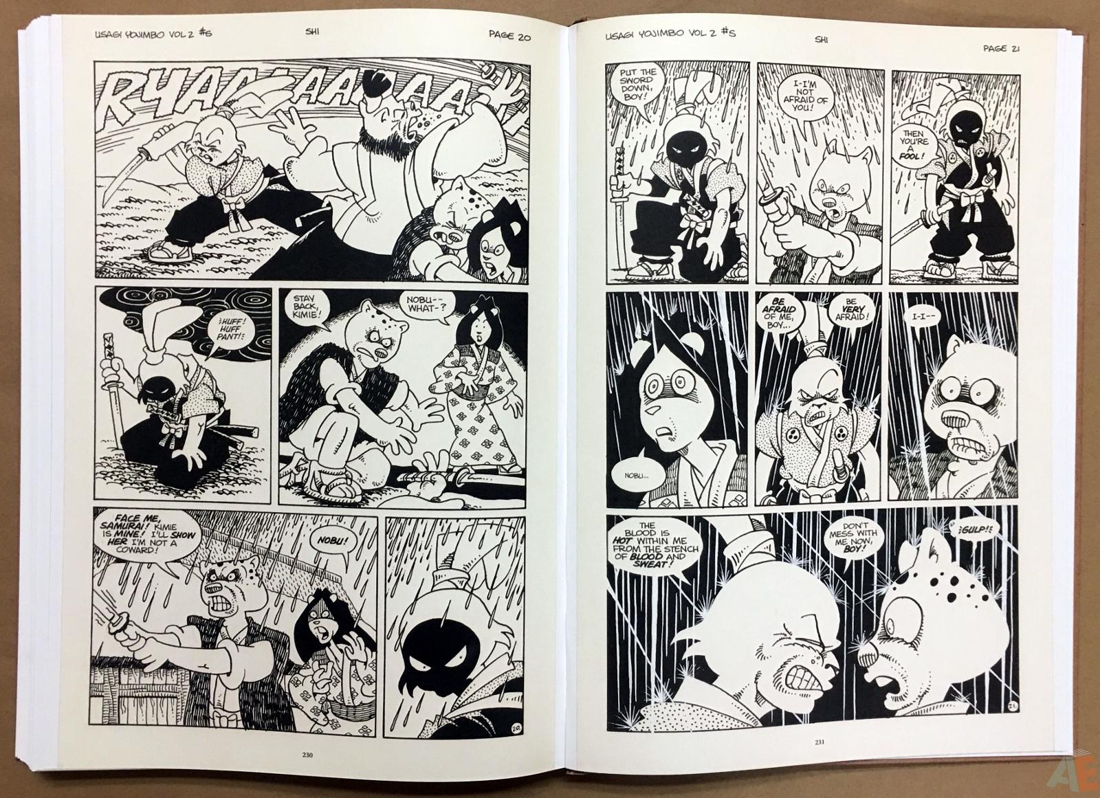 Usagi Yojimbo: Samurai and Other Stories Gallery Edition 40