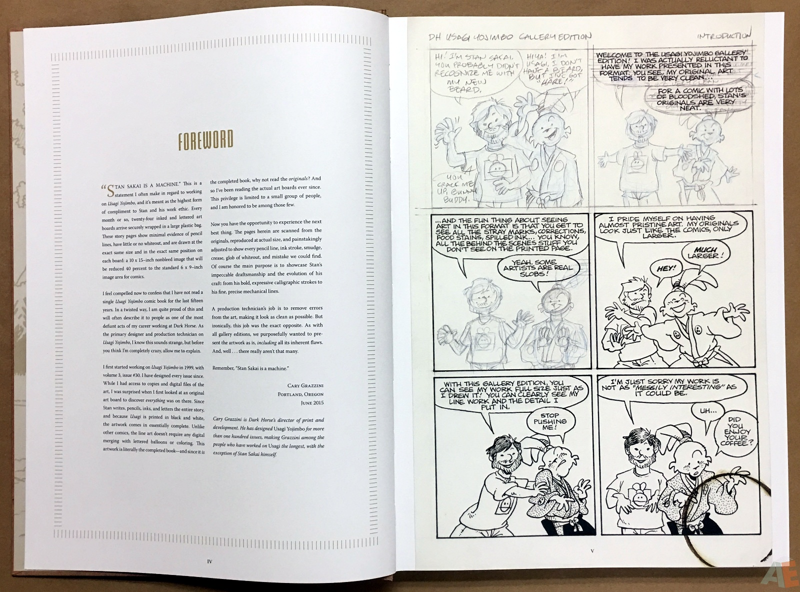 Usagi Yojimbo: Samurai and Other Stories Gallery Edition 6