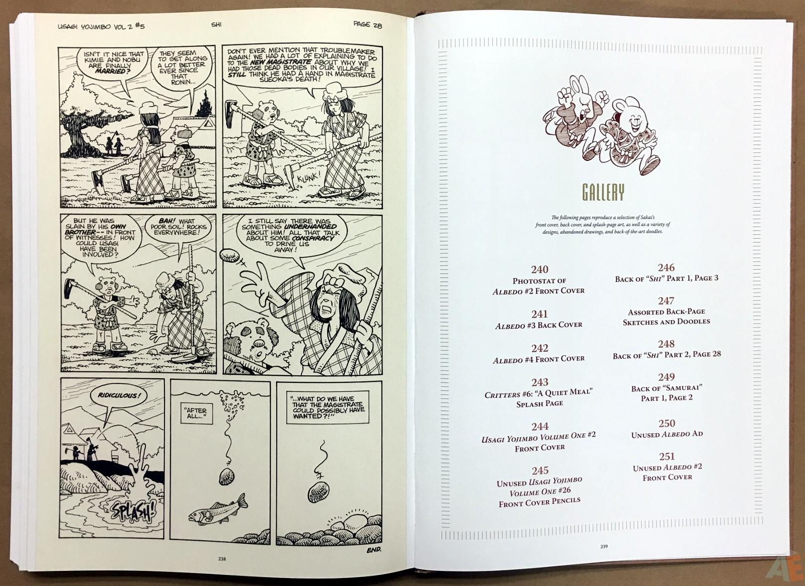 Usagi Yojimbo: Samurai and Other Stories Gallery Edition 42