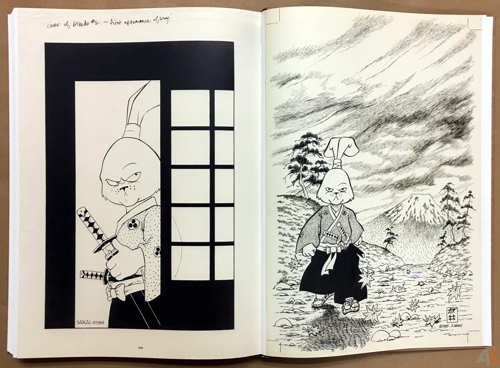 Usagi Yojimbo: Samurai and Other Stories Gallery Edition 44