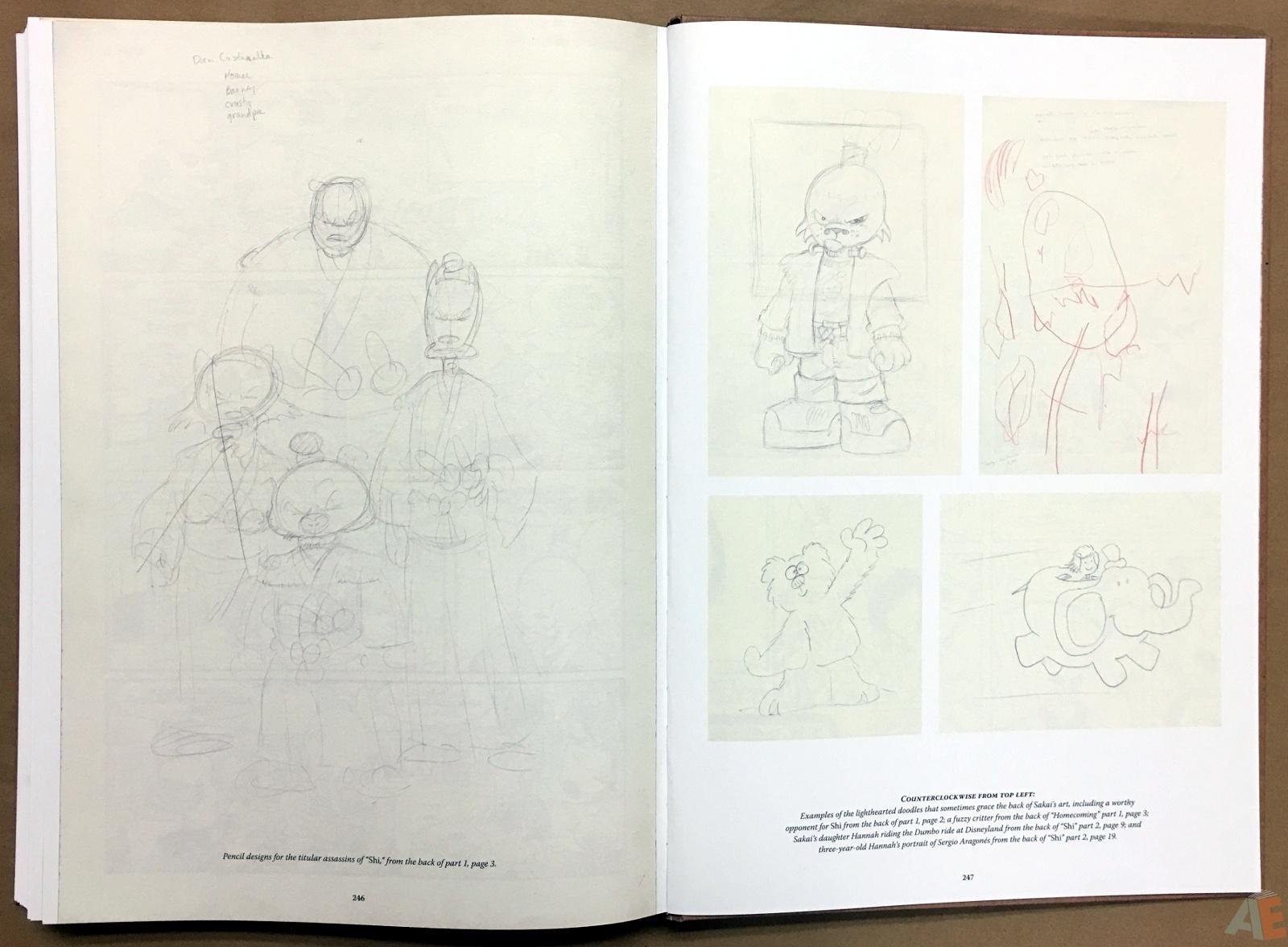 Usagi Yojimbo: Samurai and Other Stories Gallery Edition 46