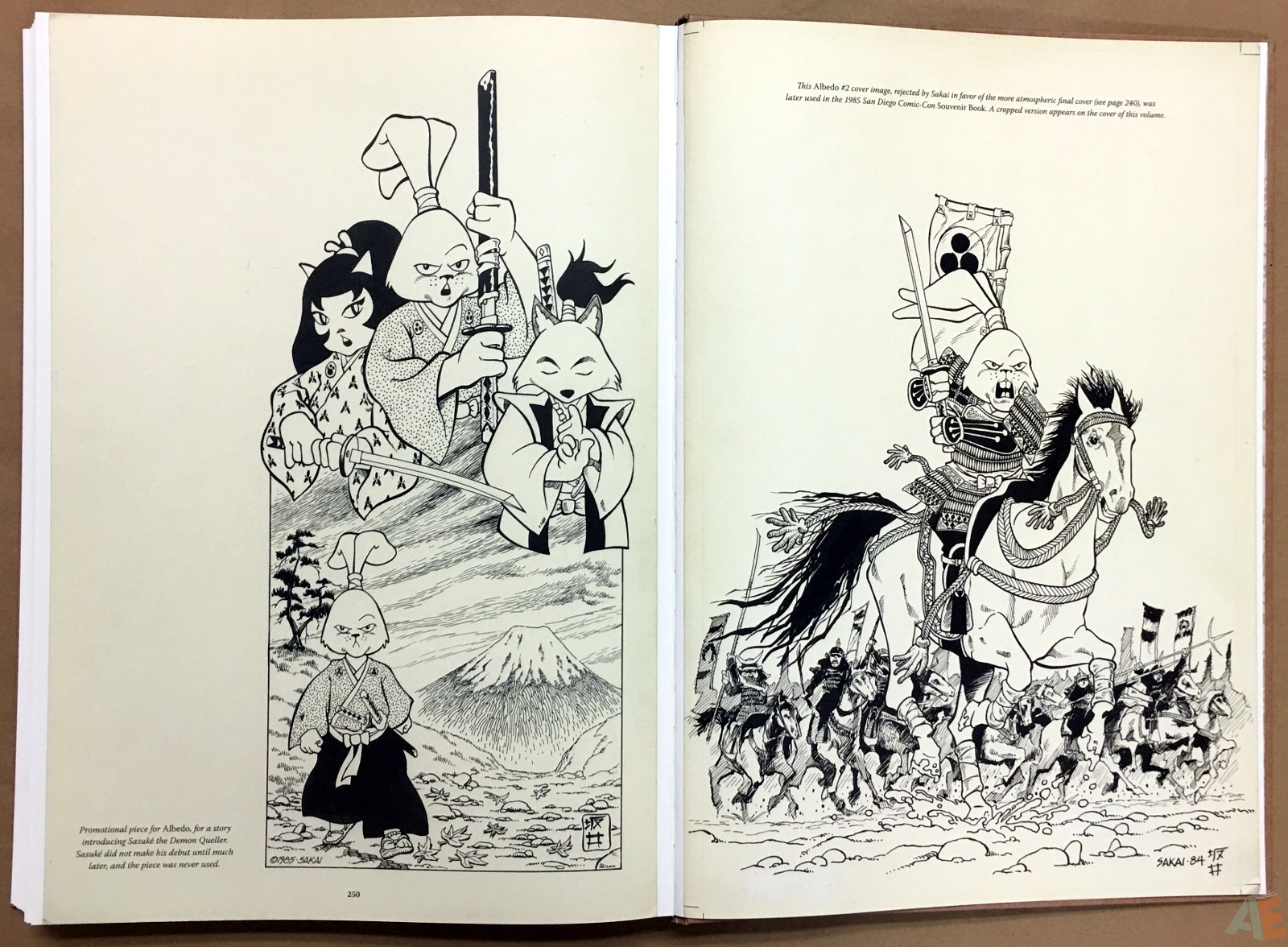 Usagi Yojimbo: Samurai and Other Stories Gallery Edition 48