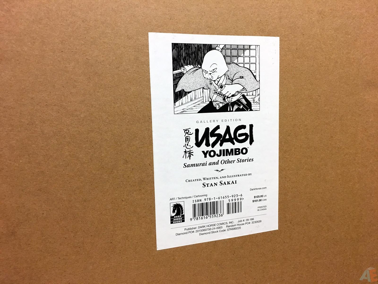 Usagi Yojimbo: Samurai and Other Stories Gallery Edition 52