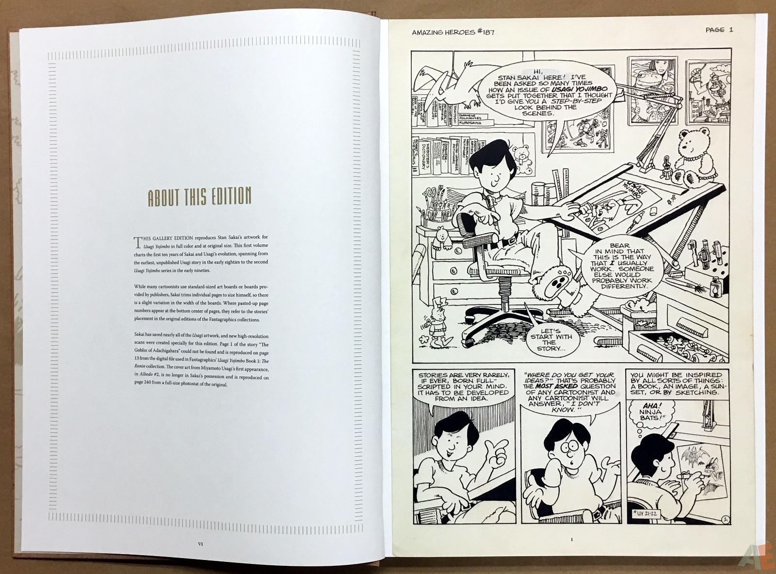 Usagi Yojimbo: Samurai and Other Stories Gallery Edition 8