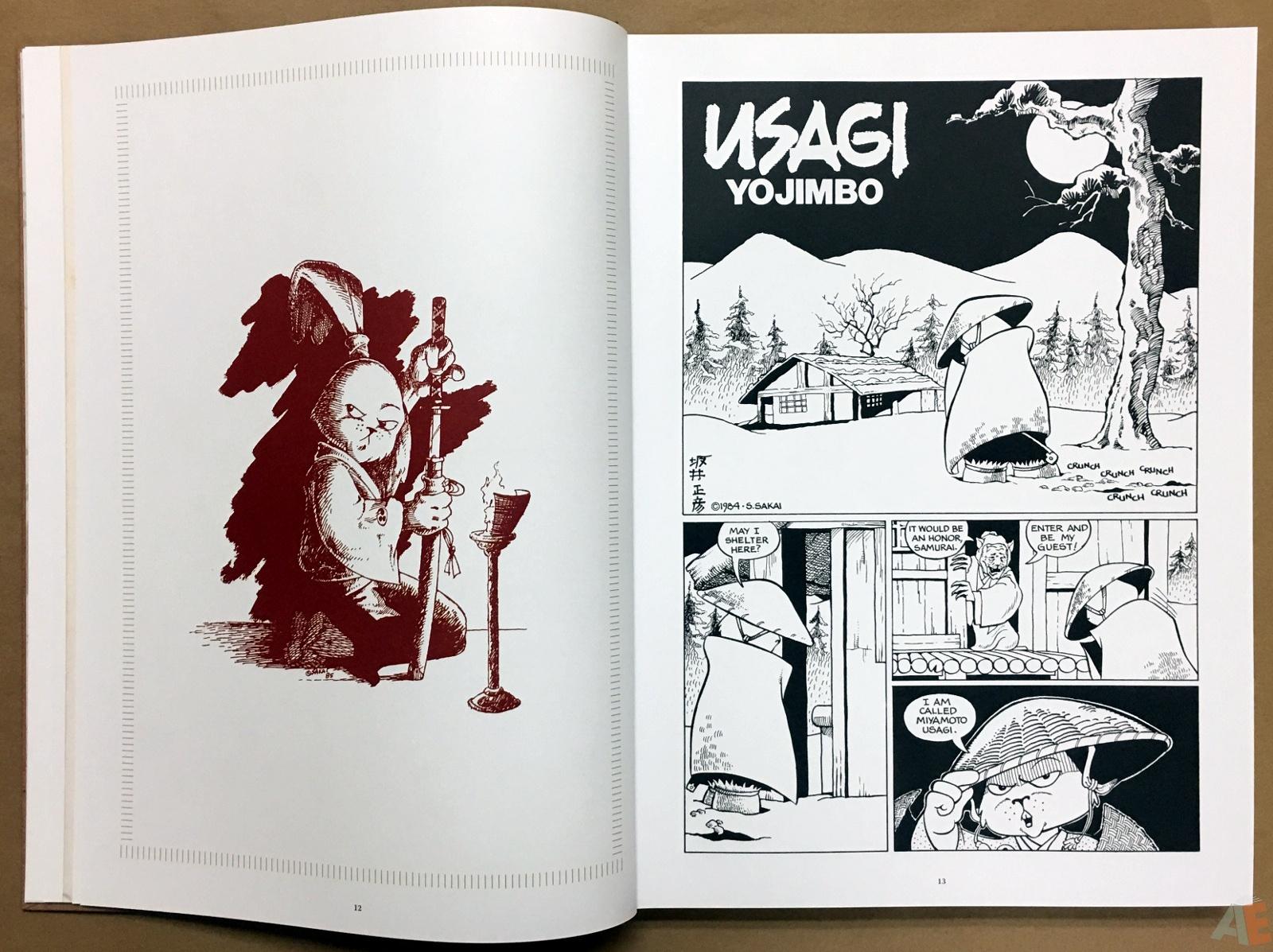 Usagi Yojimbo: Samurai and Other Stories Gallery Edition 12