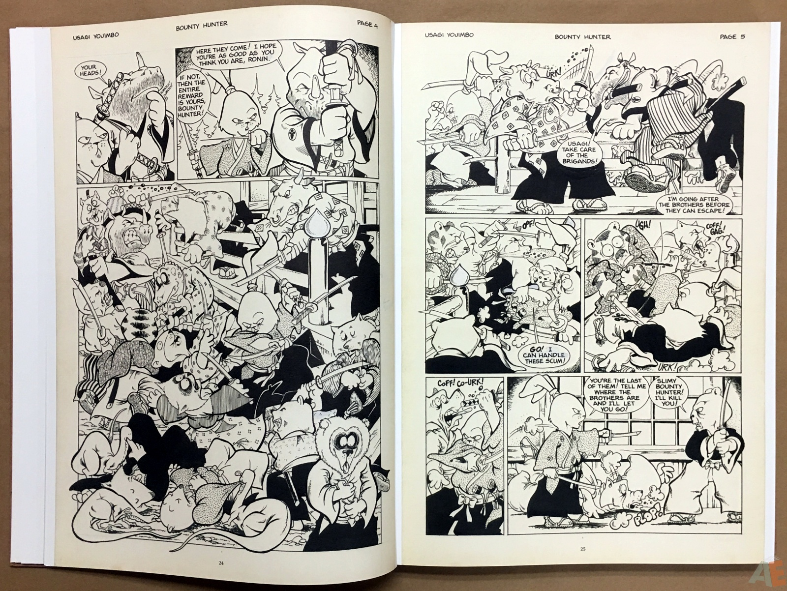 Usagi Yojimbo: Samurai and Other Stories Gallery Edition 14