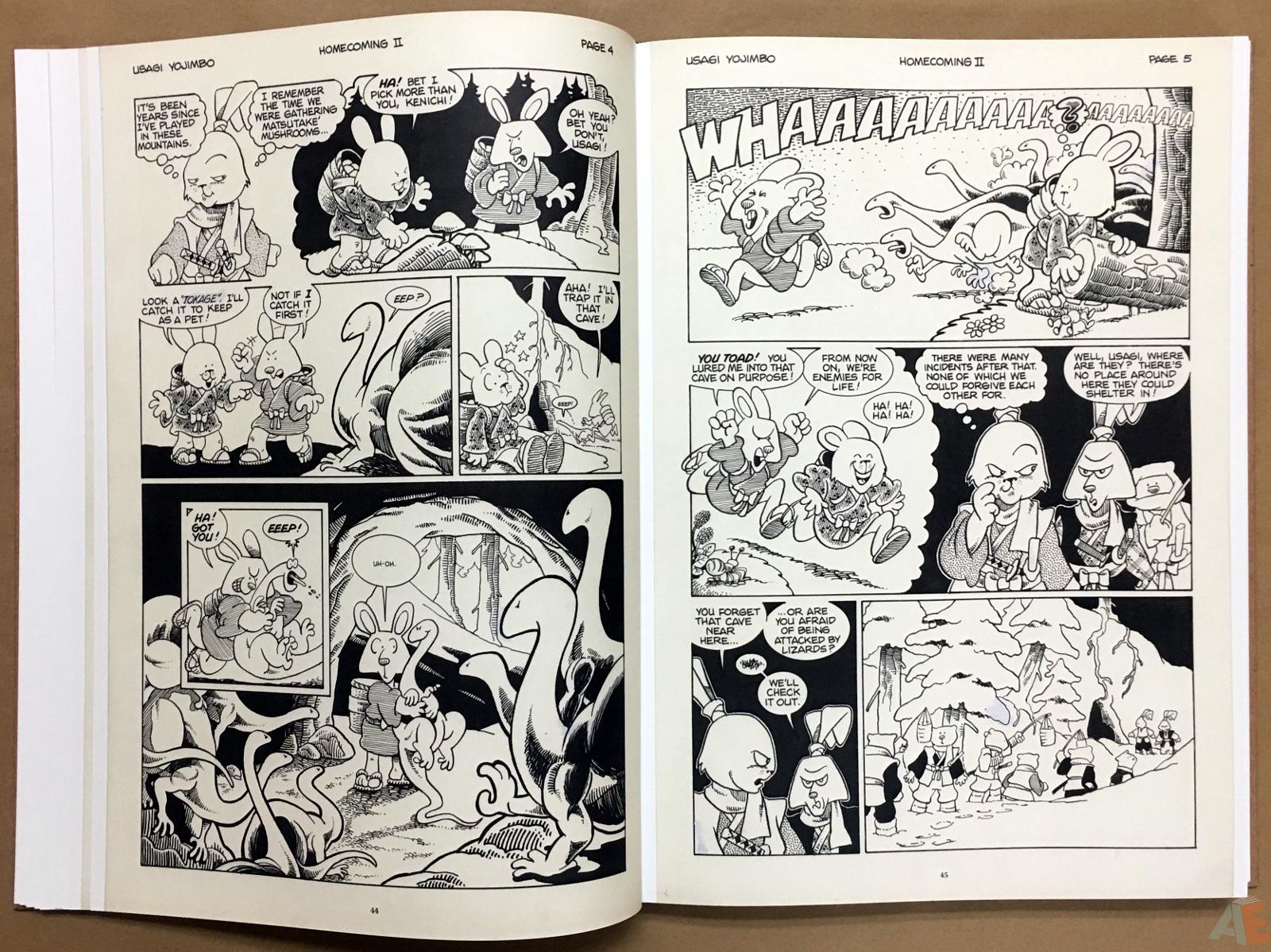 Usagi Yojimbo: Samurai and Other Stories Gallery Edition 16