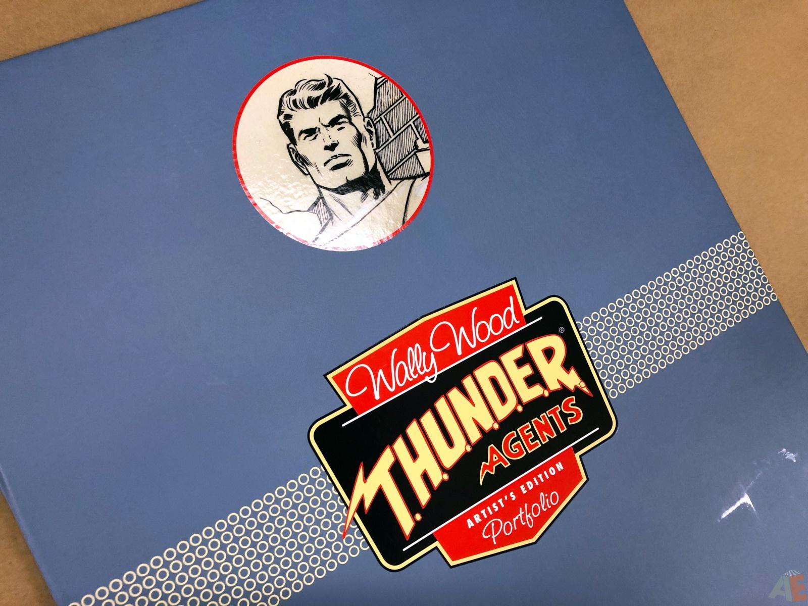 Wally Wood T.H.U.N.D.E.R. Agents Artist's Edition Portfolio 22