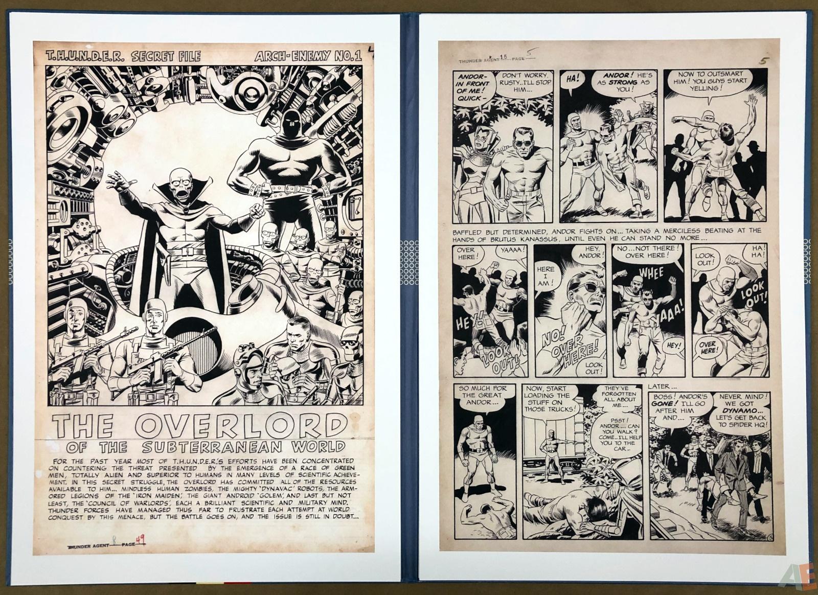 Wally Wood T.H.U.N.D.E.R. Agents Artist's Edition Portfolio 14