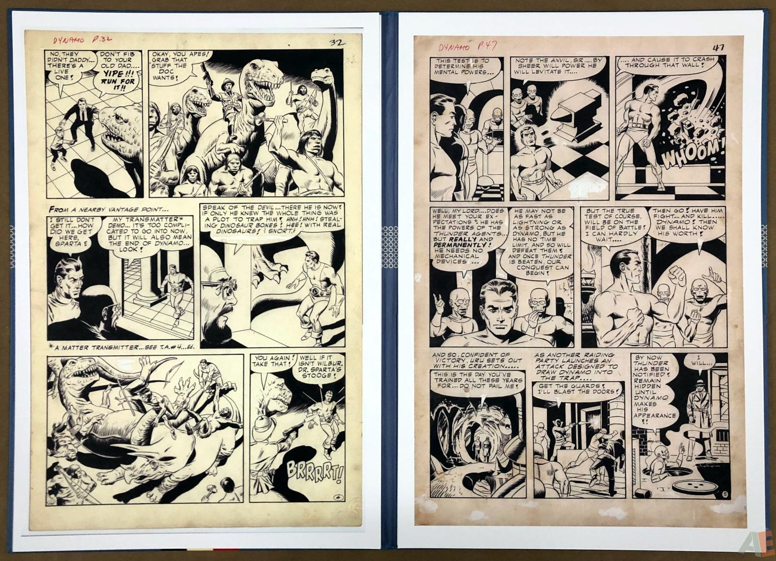Wally Wood T.H.U.N.D.E.R. Agents Artist's Edition Portfolio 16