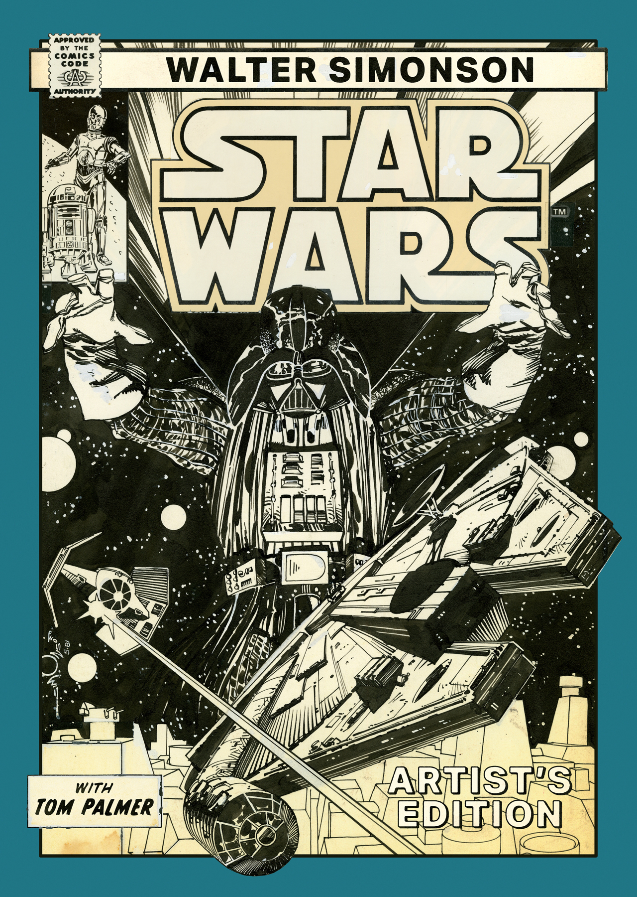 Out today: Walter Simonson Star Wars Artist's Edition 1