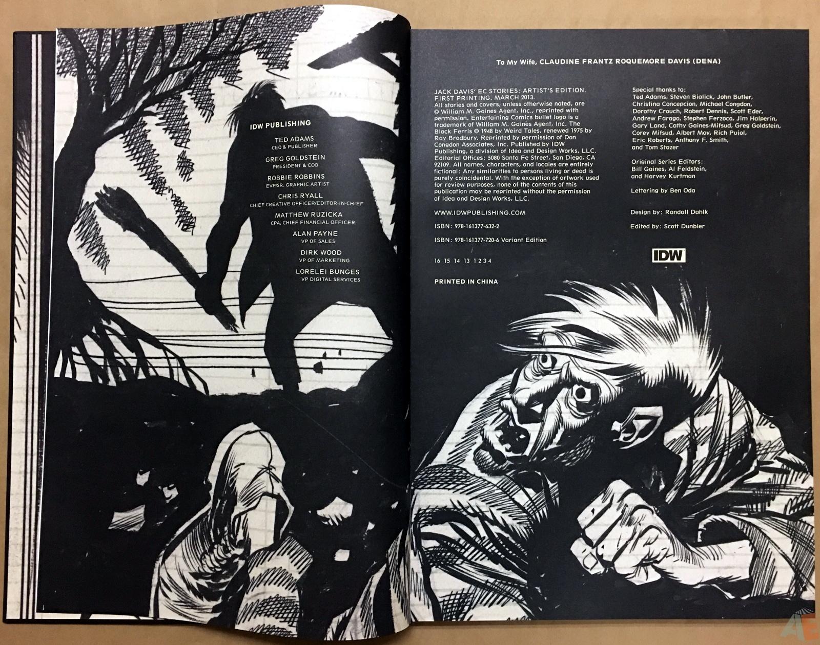 Jack Davis' EC Stories Artist's Edition 4