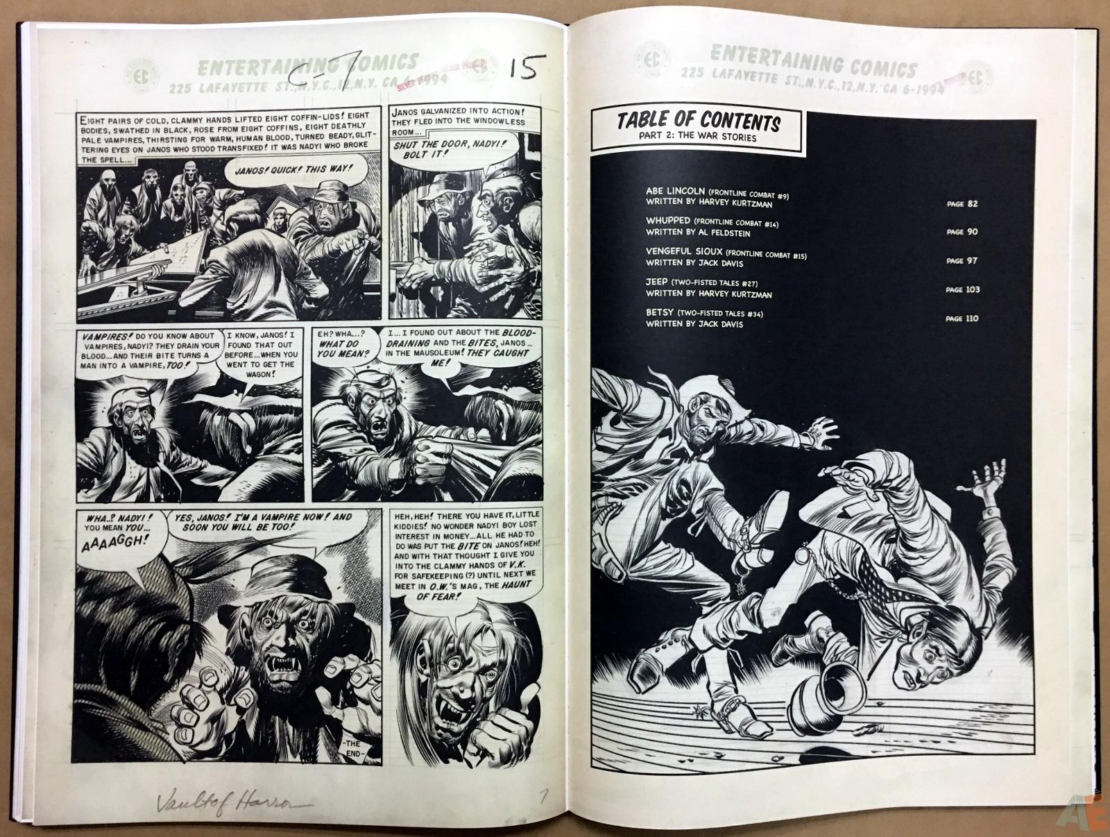 Jack Davis' EC Stories Artist's Edition 26
