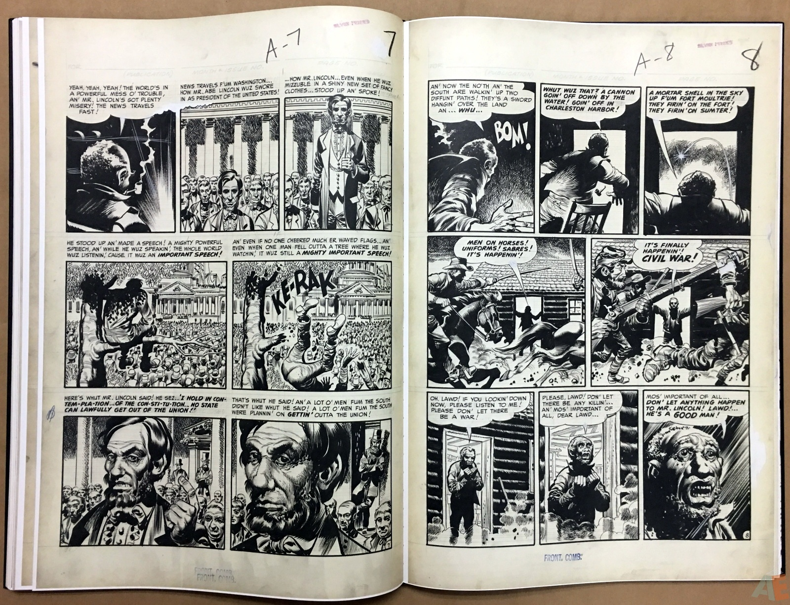 Jack Davis' EC Stories Artist's Edition 28