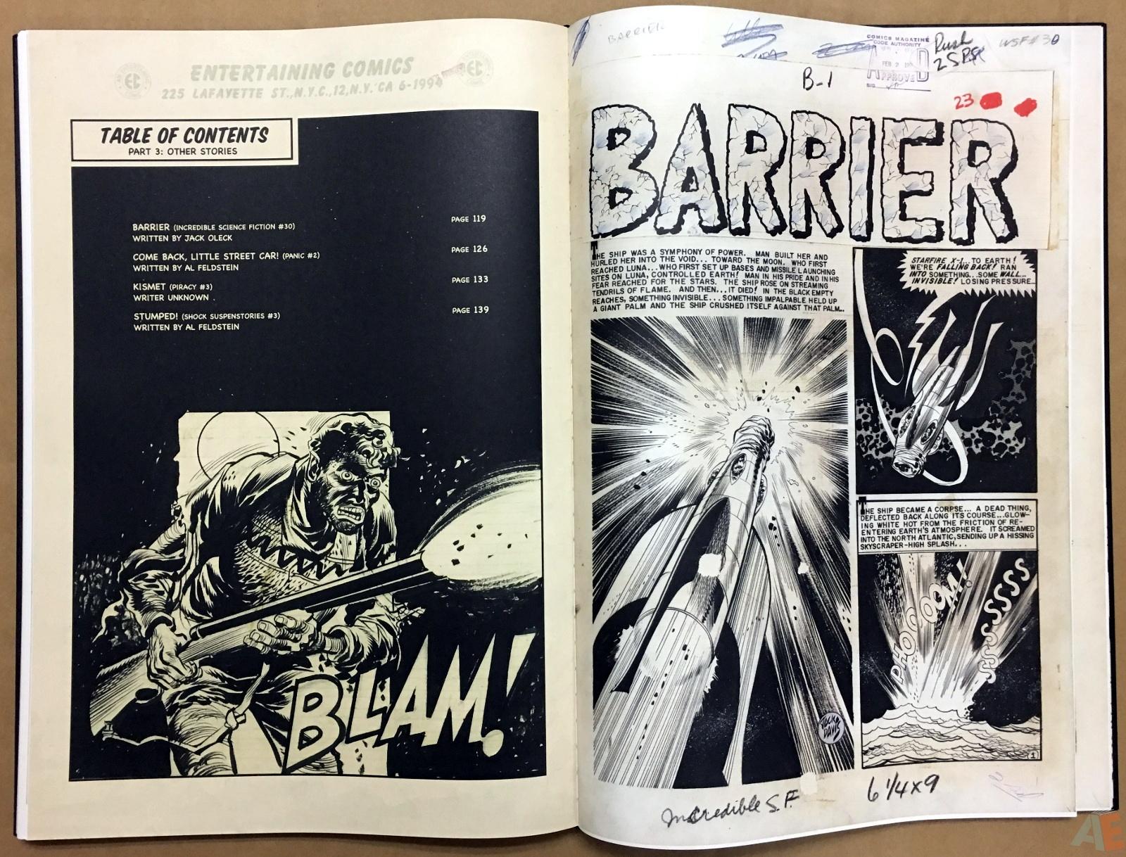 Jack Davis' EC Stories Artist's Edition 36