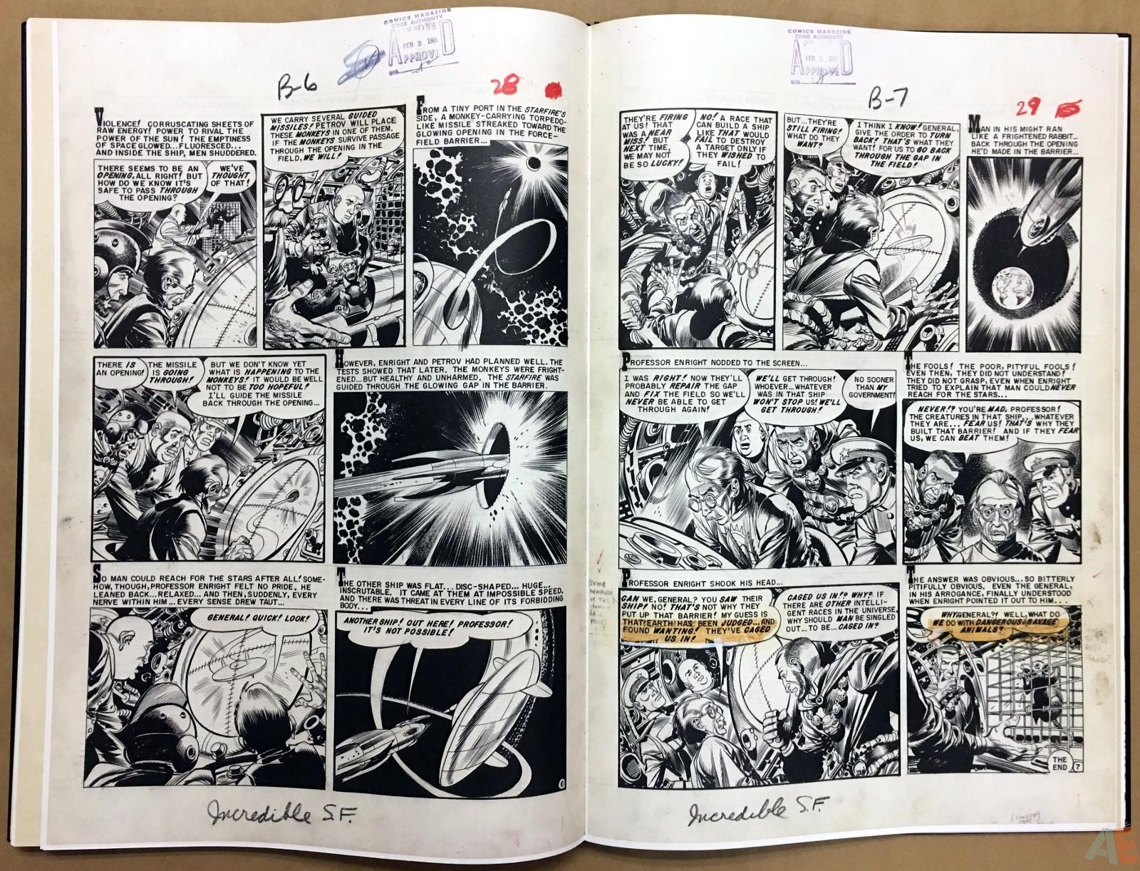 Jack Davis' EC Stories Artist's Edition 38