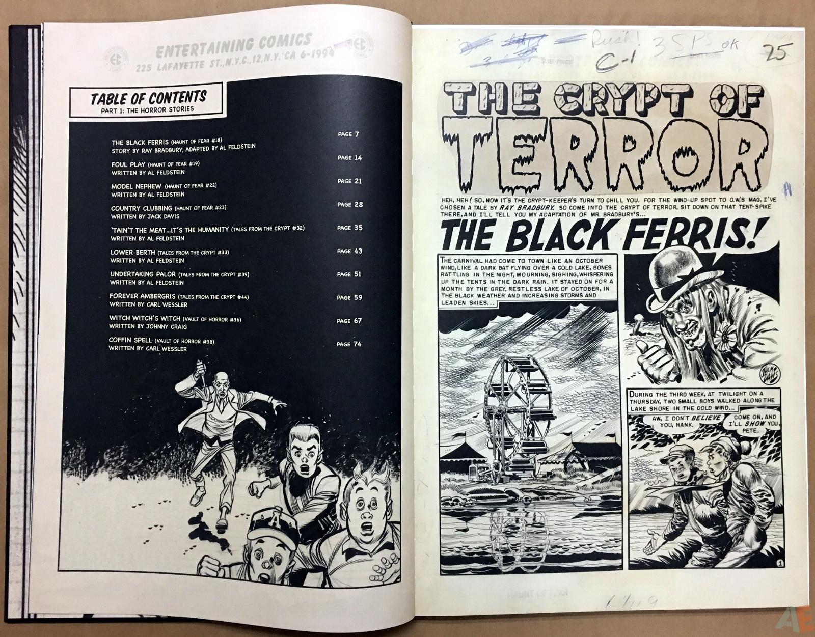 Jack Davis' EC Stories Artist's Edition 6