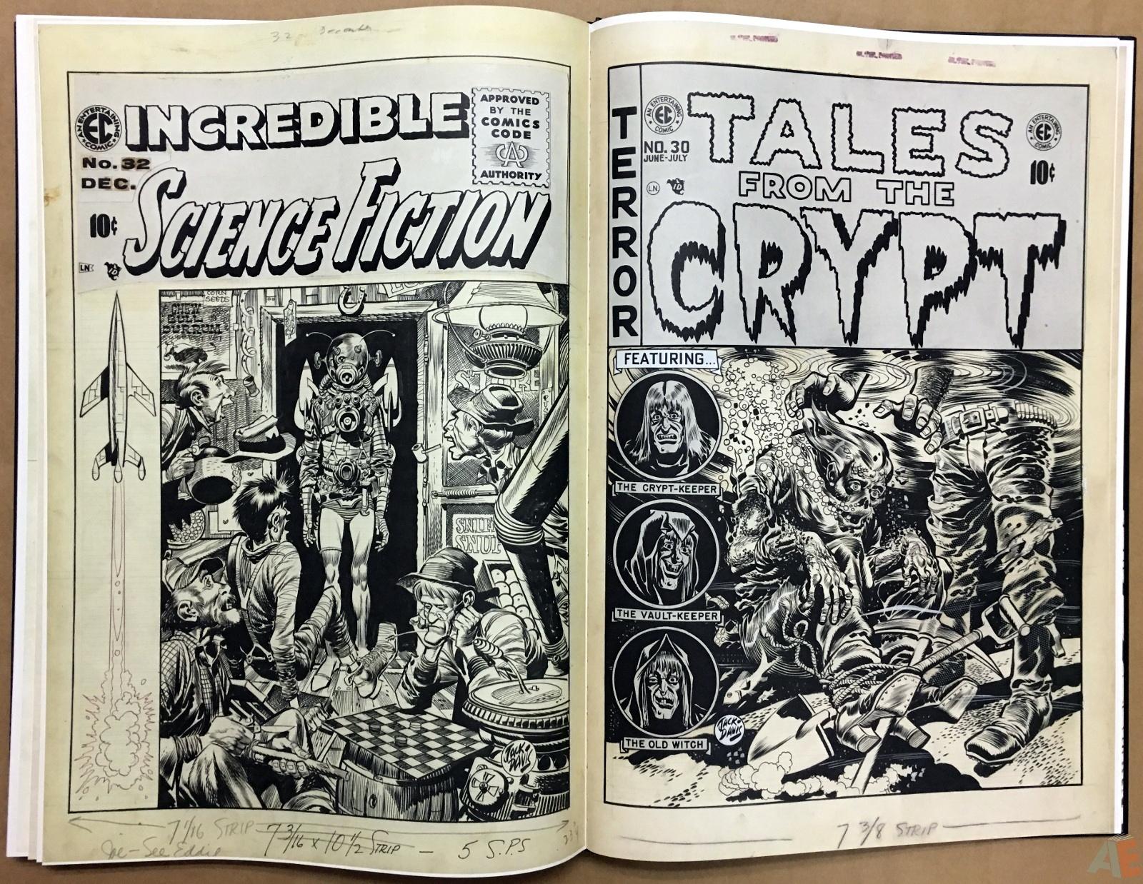 Jack Davis' EC Stories Artist's Edition 46