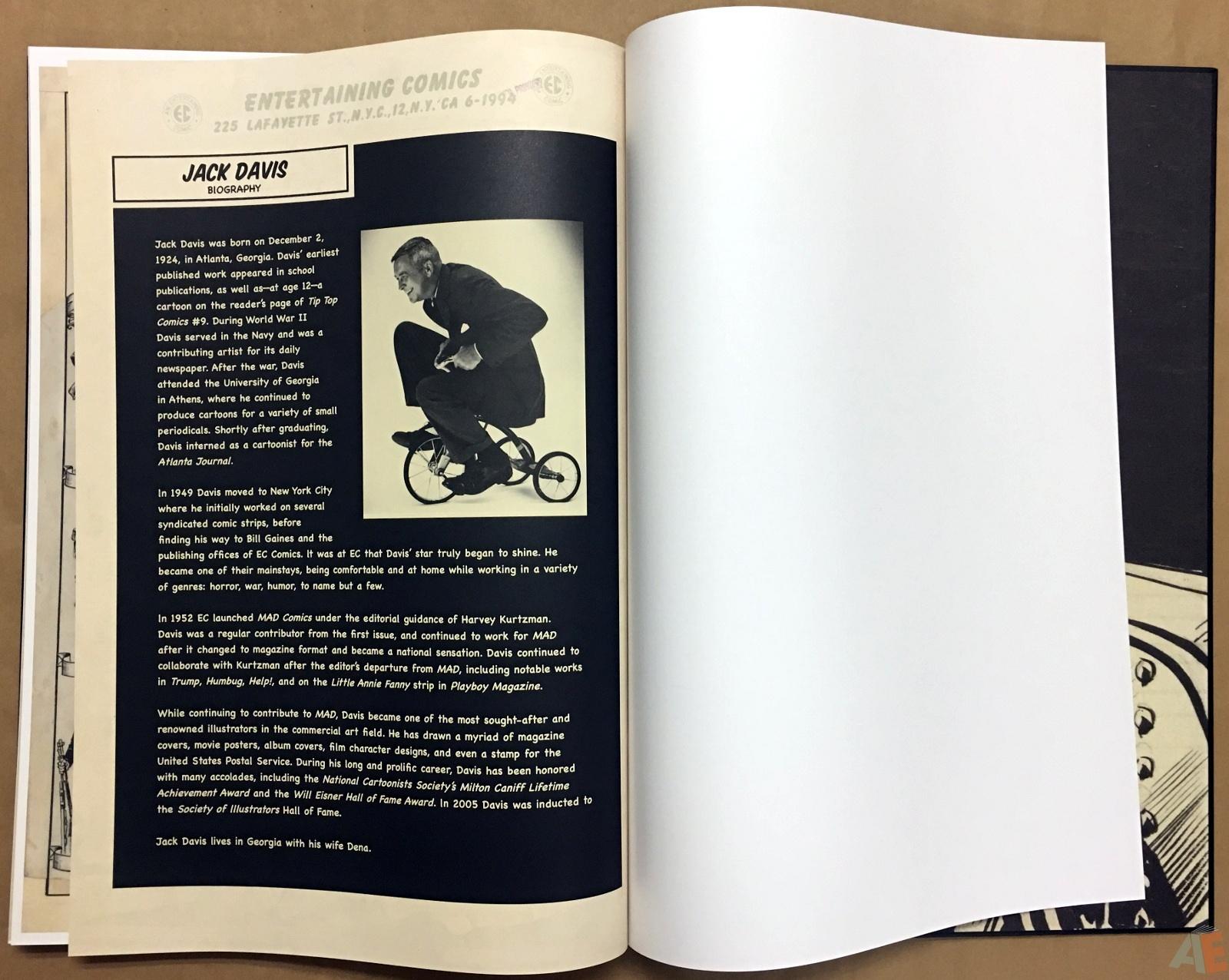Jack Davis' EC Stories Artist's Edition 50