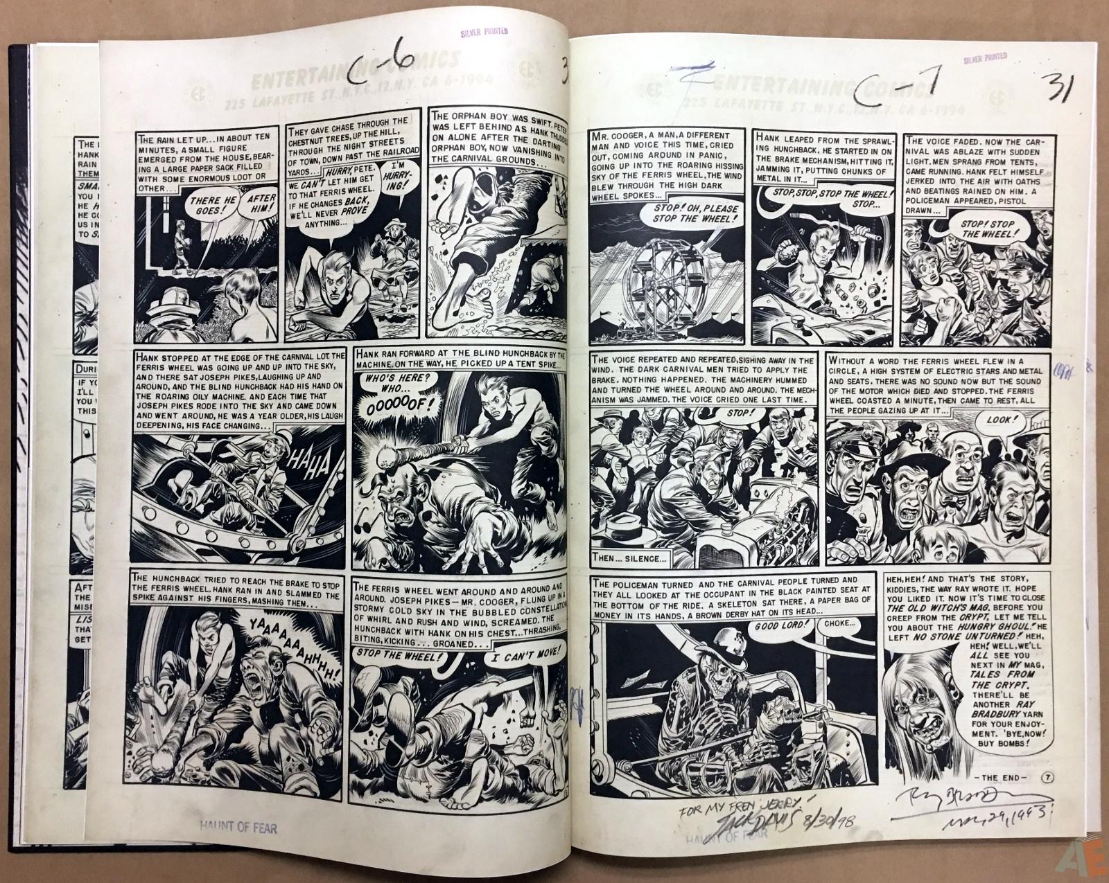 Jack Davis' EC Stories Artist's Edition 8