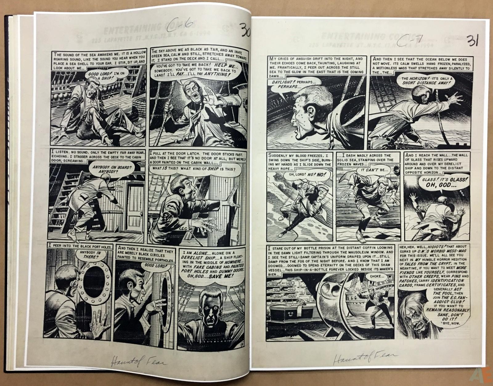 Jack Davis' EC Stories Artist's Edition 12