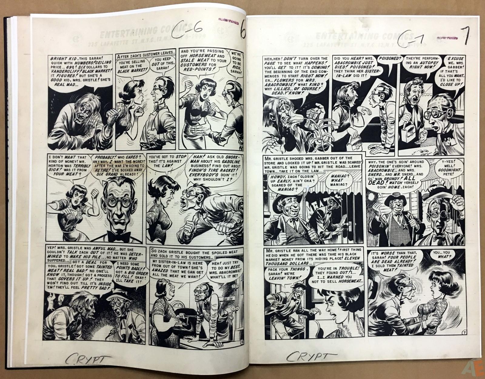 Jack Davis' EC Stories Artist's Edition 16