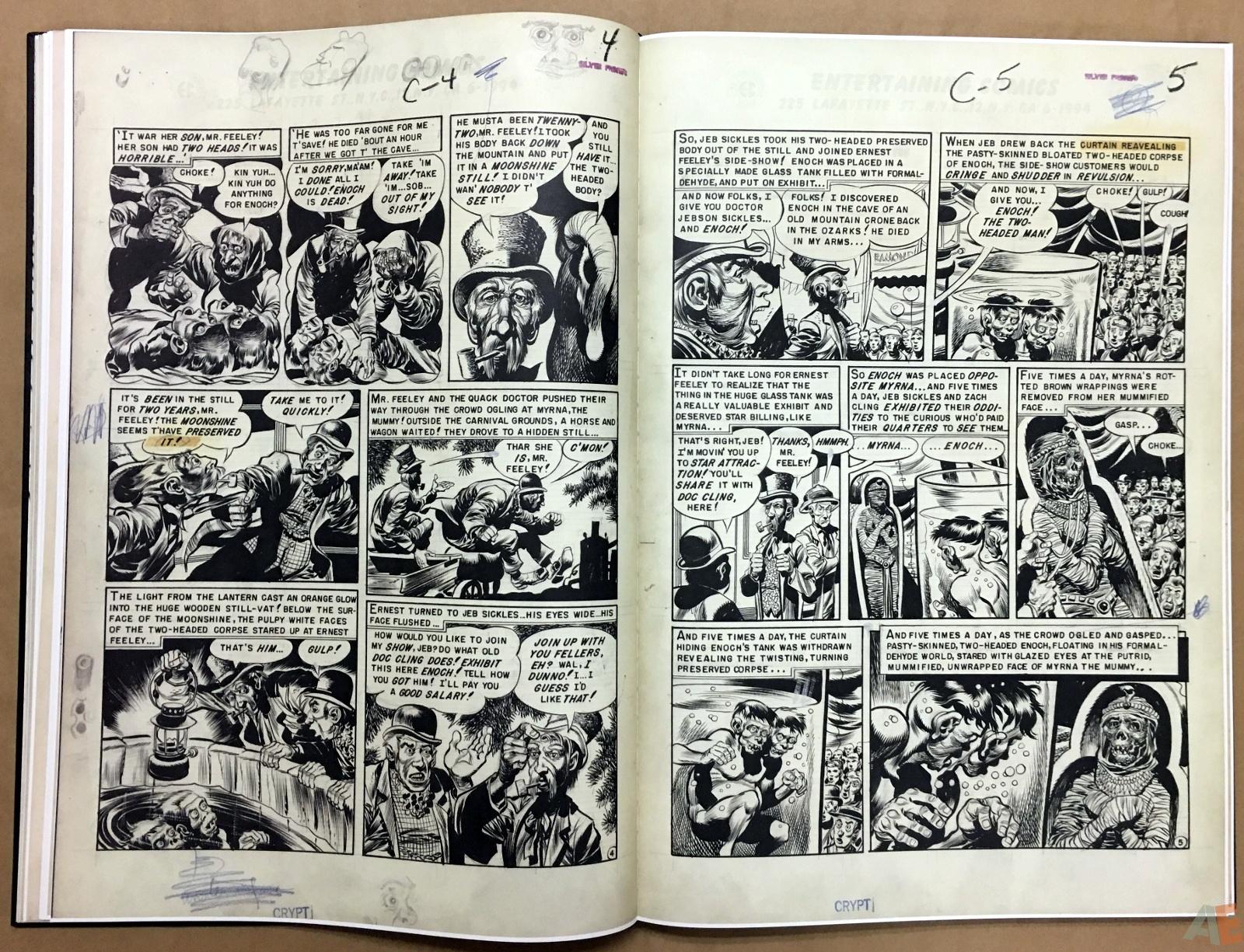 Jack Davis' EC Stories Artist's Edition 18