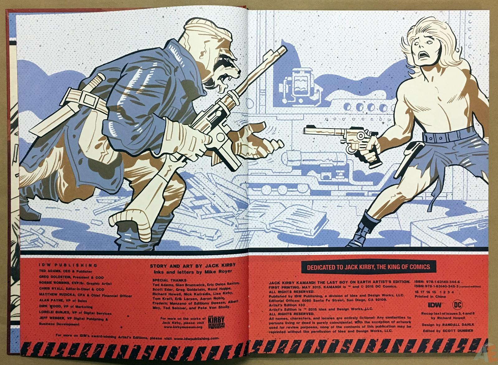 Jack Kirby Kamandi The Last Boy On Earth Artist's Edition 4