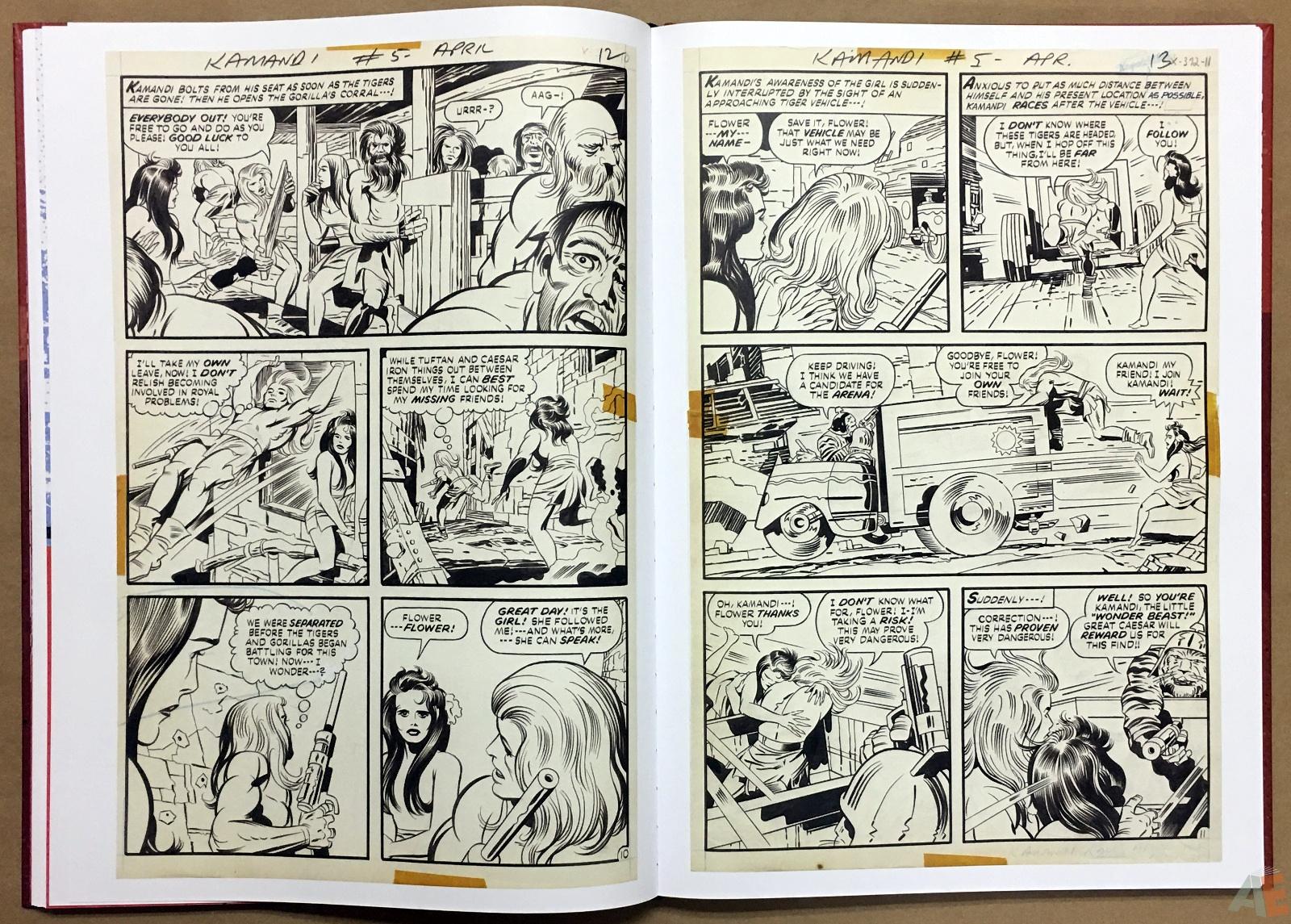 Jack Kirby Kamandi The Last Boy On Earth Artist's Edition 22